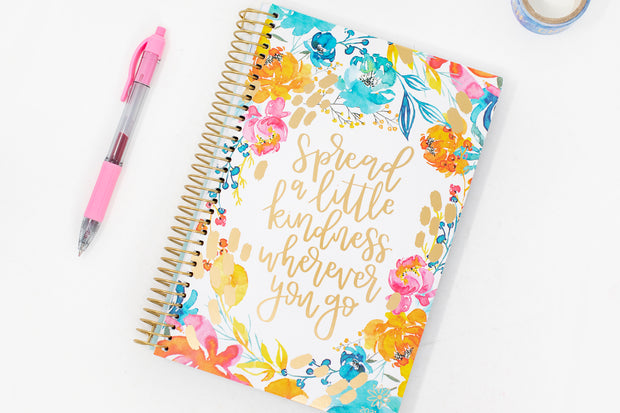 2021-22 Soft Cover Daily Planner & Calendar, Spread Kindness