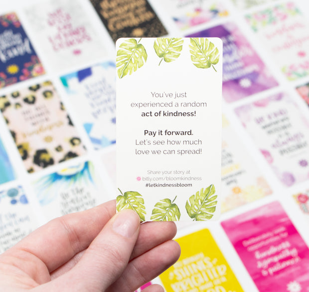Card Deck, Act of Kindness Cards