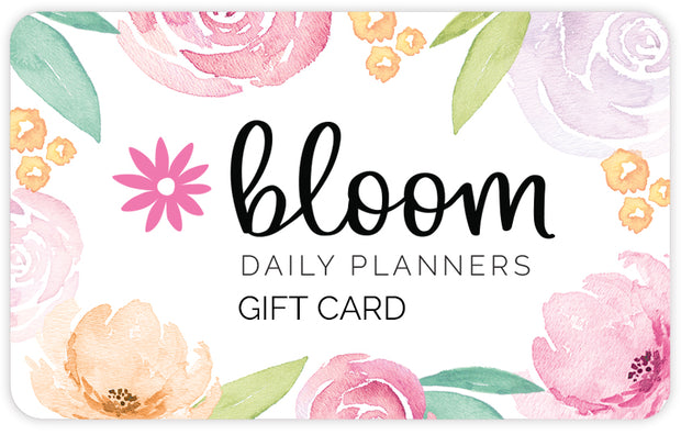 bloom daily planners Gift Card