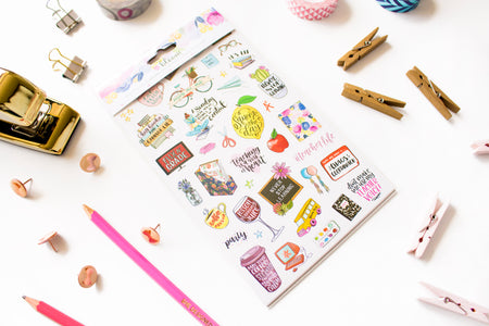Sticker Sheets, Teacher Planner Stickers