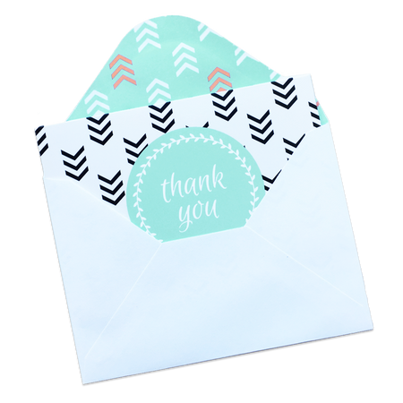 Tribal Thank You Card Set