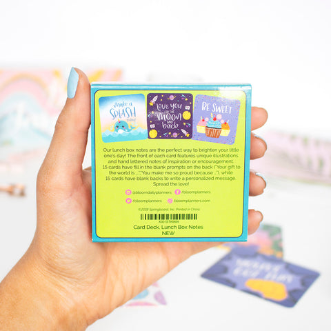 Card Deck, Lunch Box Notes - PRE-ORDER