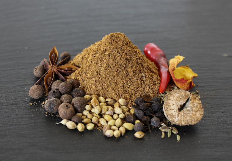 Add some spice to your meals and cookouts with our Gourmet Ras El Hanout Spice Blend.