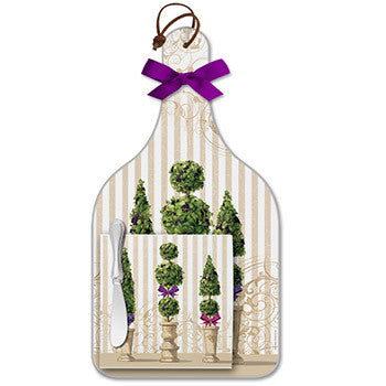 Cheese Server Gift Set - Garden Topiary