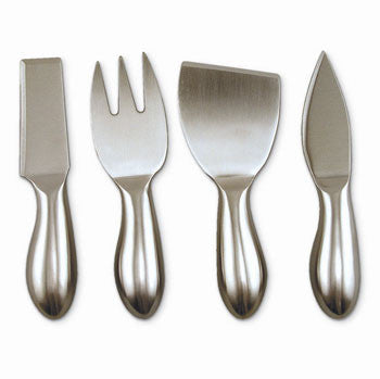 Cheese Knives - 4 Piece Stainless