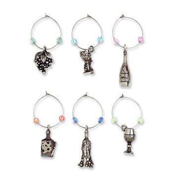 Wine Glass Charms - A Glass a Day