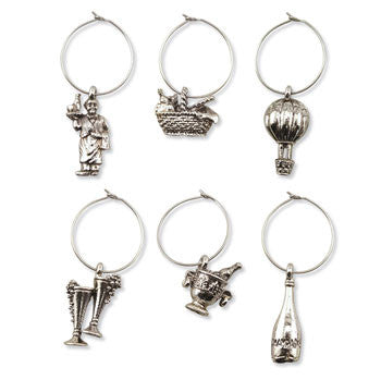 Wine Glass Charms - Vintage style