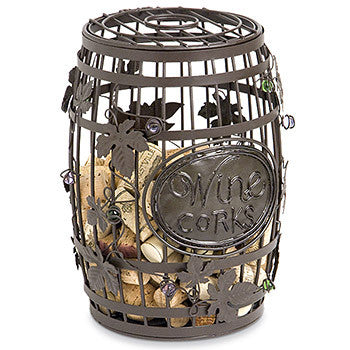 Cork Cage - Wine Barrel