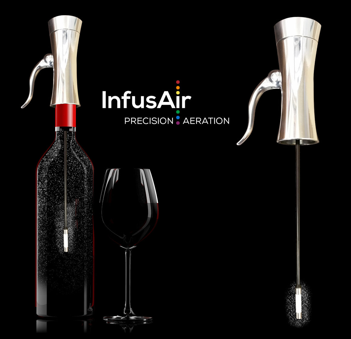 The InfusAir Wine Aerator Will ROCK YOUR WORLD!!