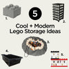 Cool Modern Lego Storage Idea