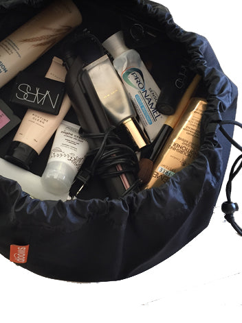 Black Cat Mini Cosmetic / Beauty / Travel Bag