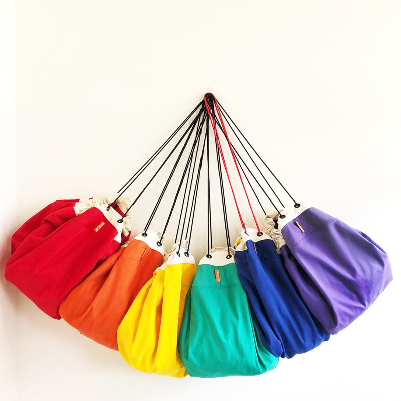 rainbow of swoop bag colors for toy storage