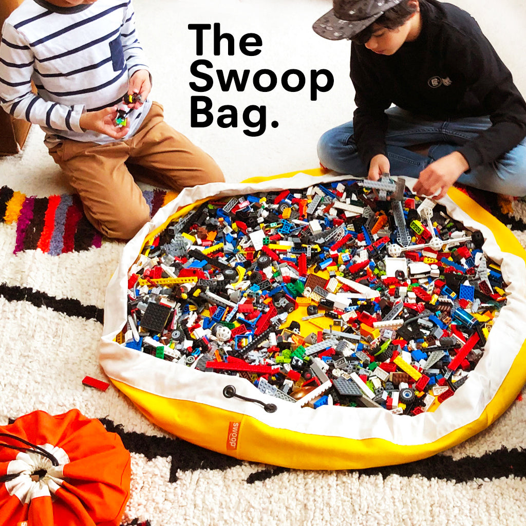 The Swoop Toy Bag for Lego Storage Ideas