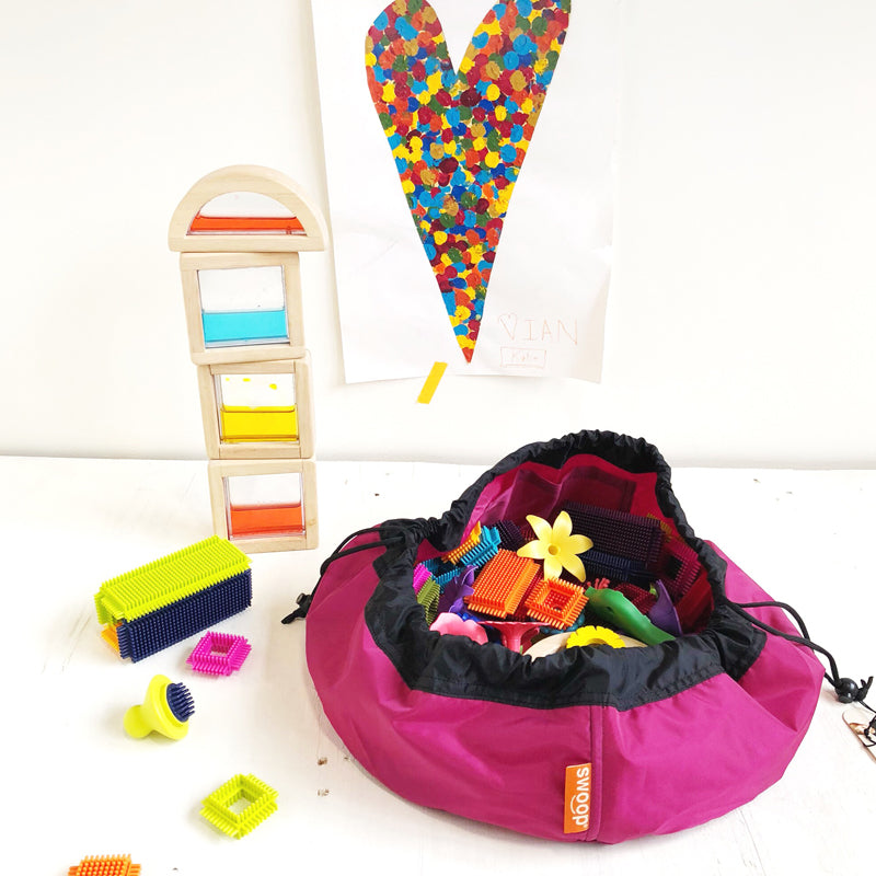 mini berry swoop bag for toy storage