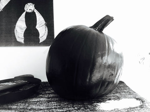 DIY no carve pumpkin designs
