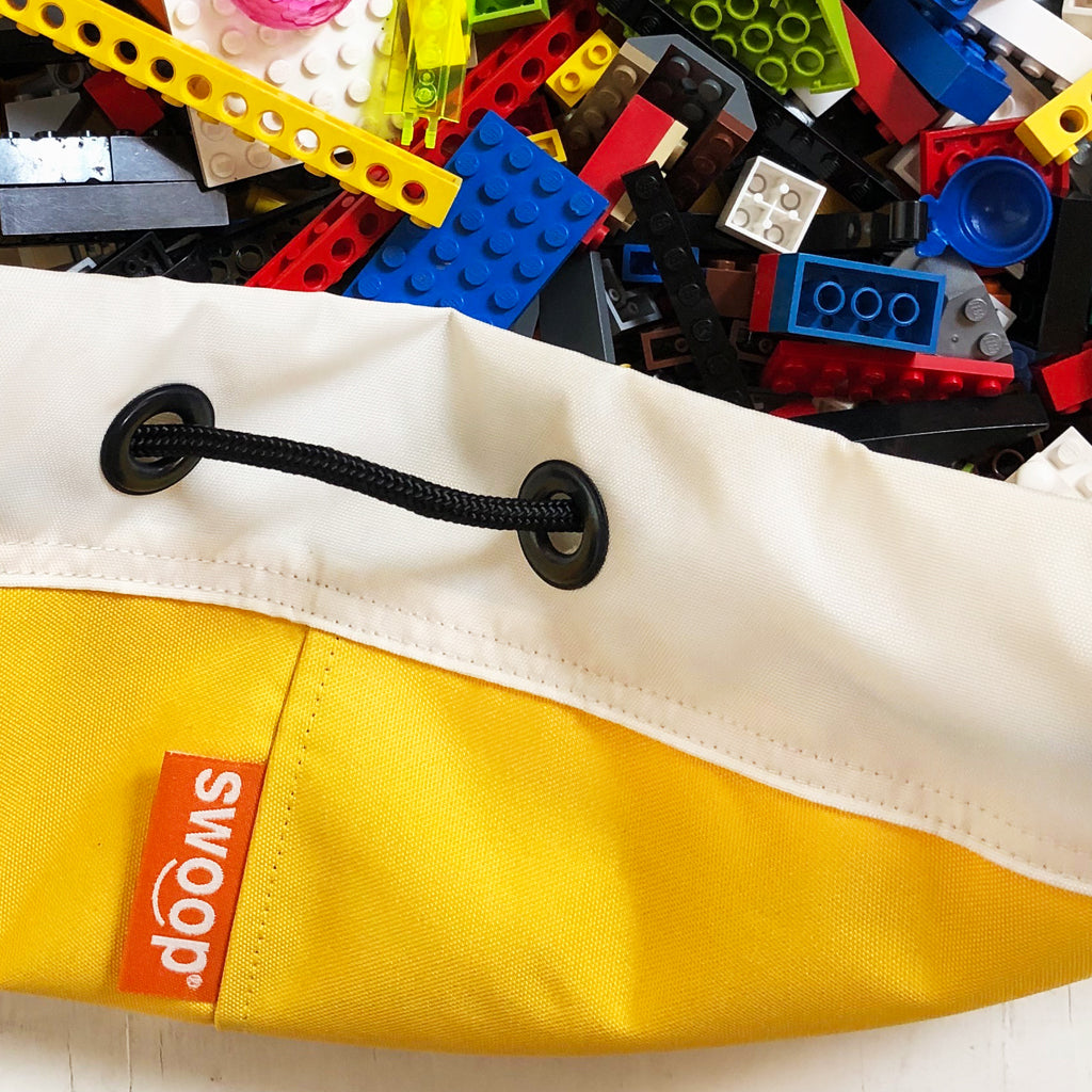 Medium Toy Storage Bag - Banana Yellow (SHIPS 11/6)