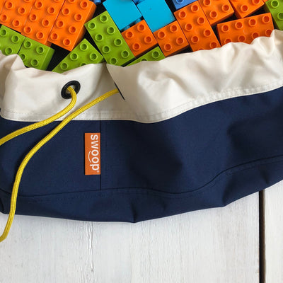Super Toy Storage Bag - Navy Blue