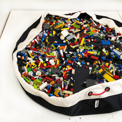 Swoop Bags Storage Ideas for Lego Bricks BLACK