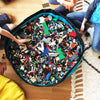lego bag and mat opened