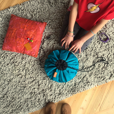 portable travel toy bag