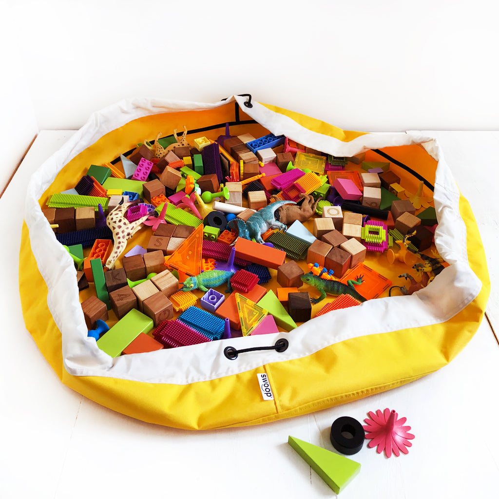 Super Toy Storage Bag - Banana Yellow