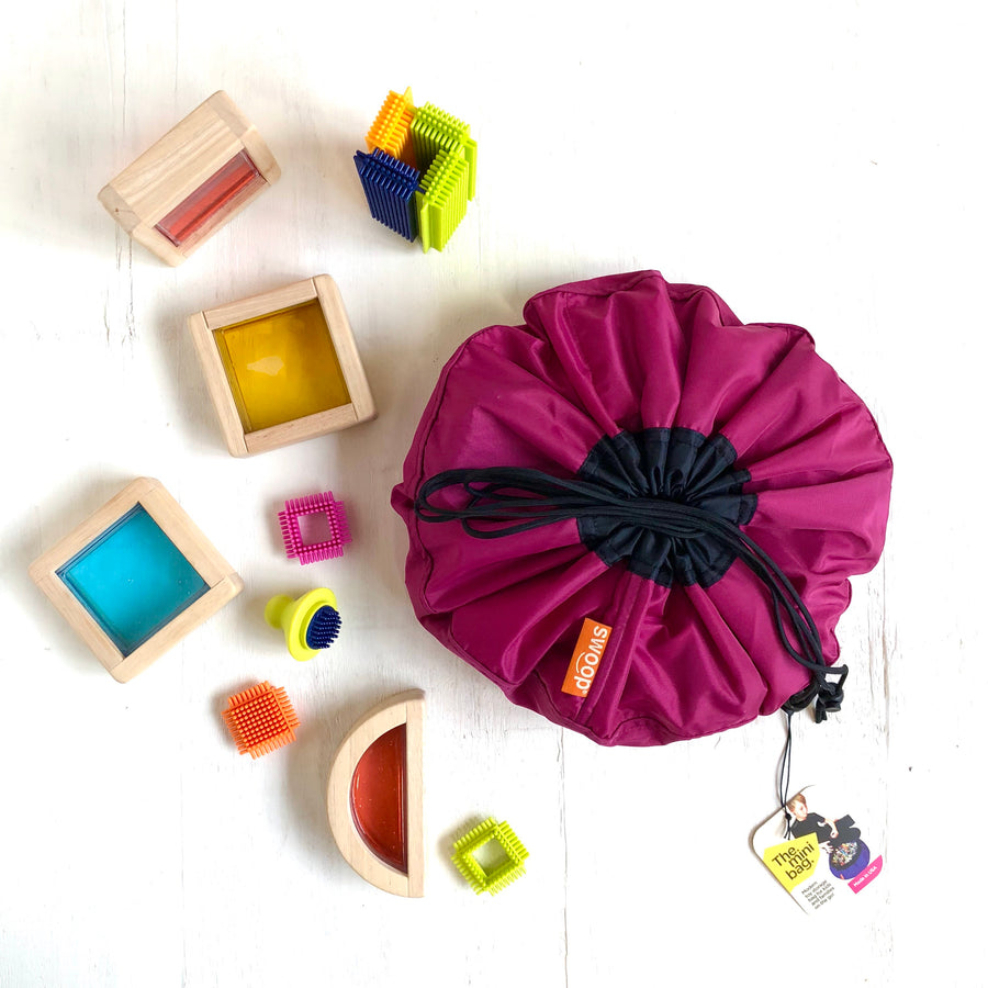 mini berry toy storage bag