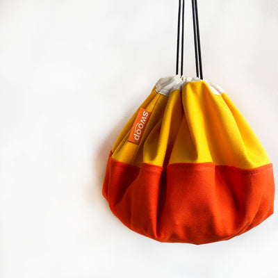 mini swoop bag for toy storage sunshine color