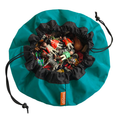 Mini Toy Storage Bag - Teal