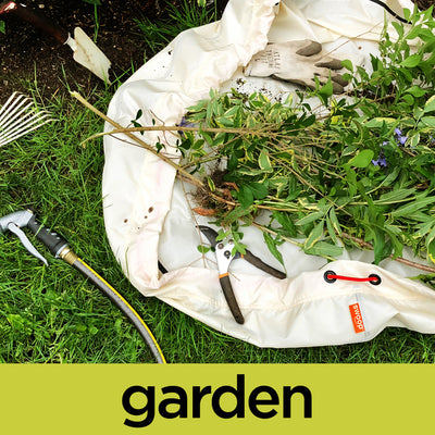 garden bag and mat