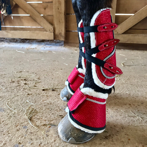 PRE- ORDER - Sparkle Horse Boots - Set of 6