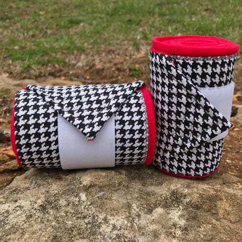 Houndstooth Polos