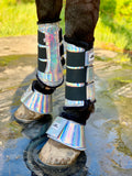 Holographic Horse Boots