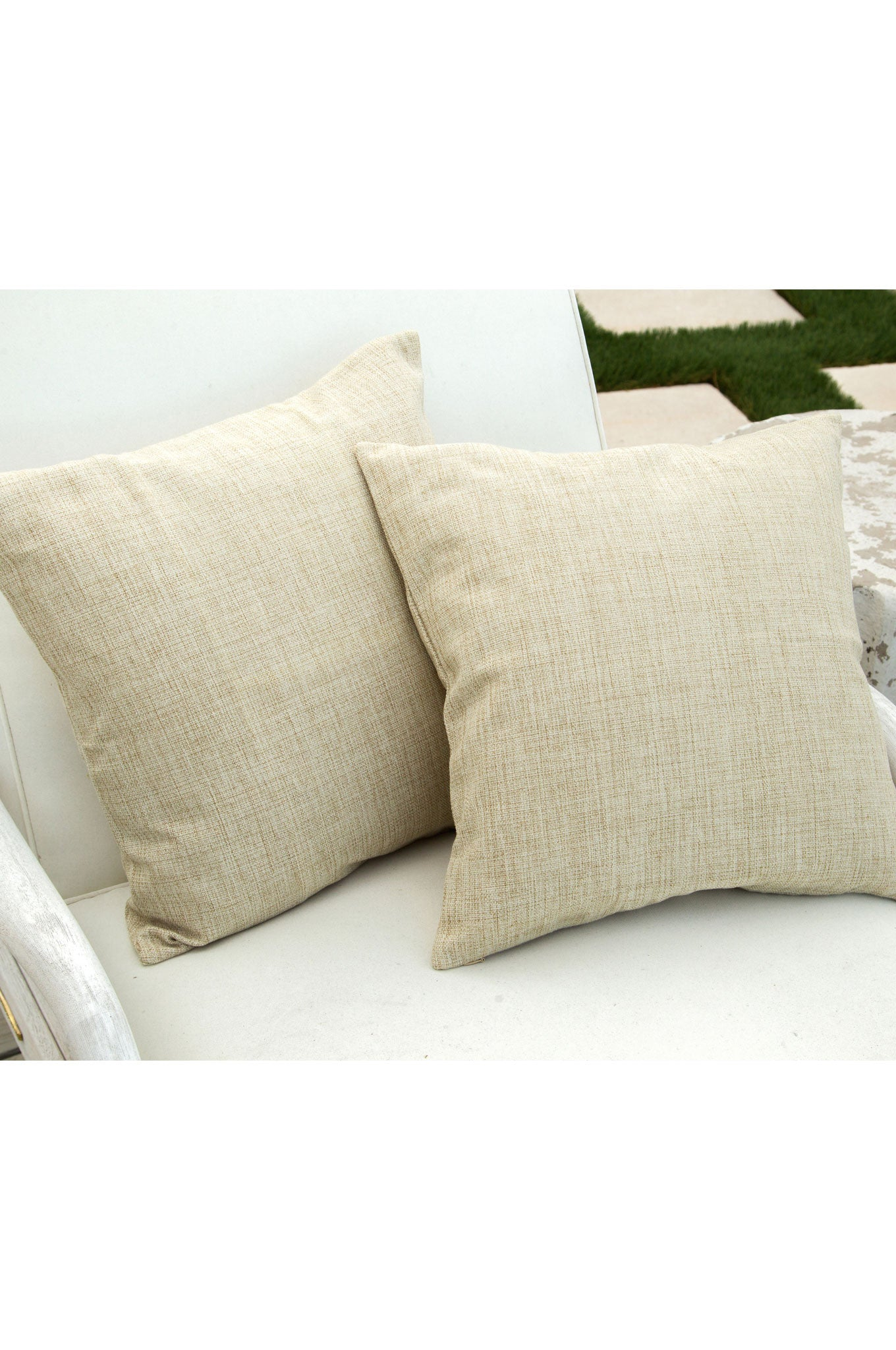 Baguette Linen Pillow Cover 17""