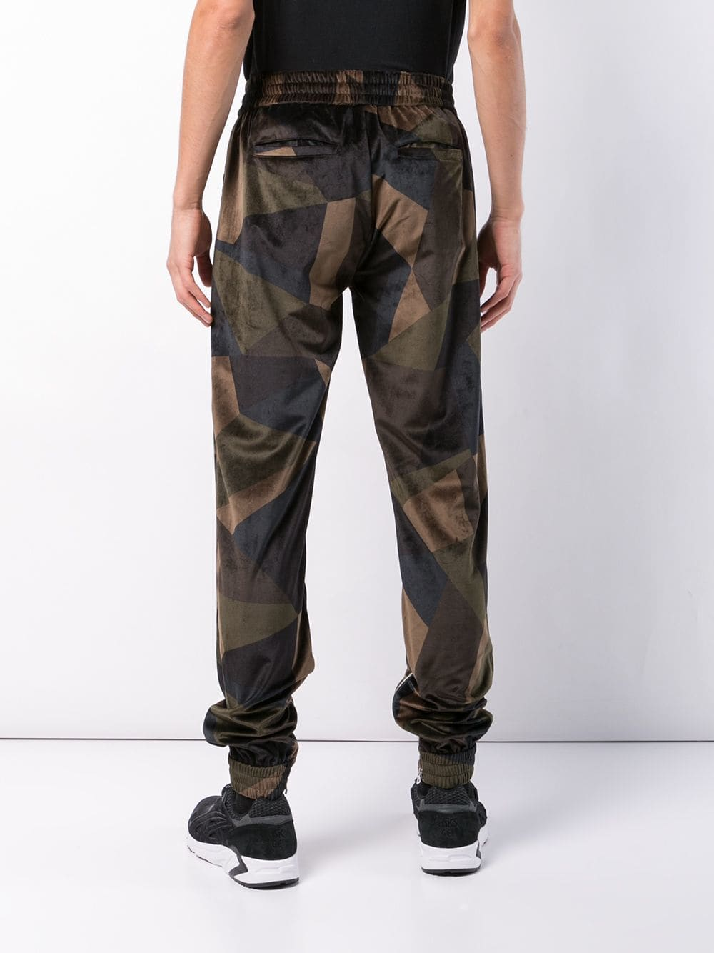 ABSTRACT JOGGER - ARMY GREEN
