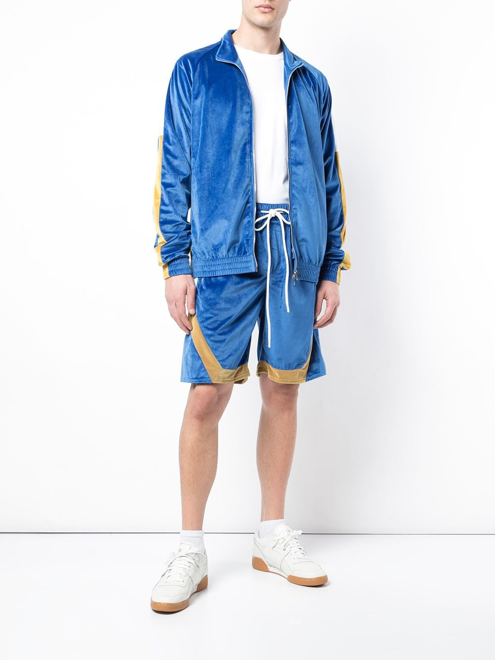 ALL STAR JACKET (BLUE/YELLOW)