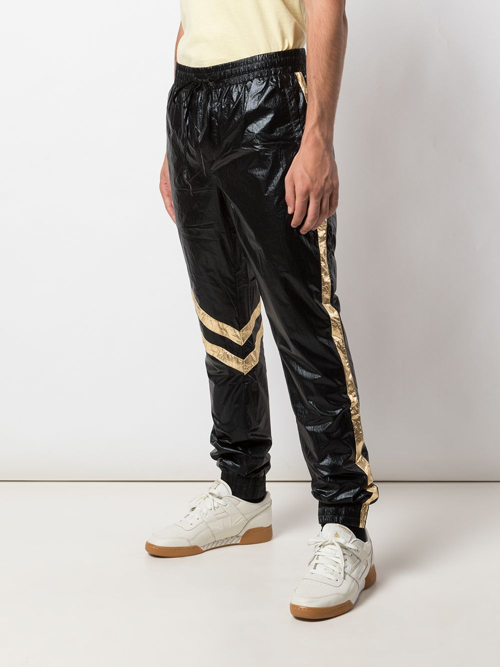 ASTRO PANTS (METAL BLACK/GOLD)