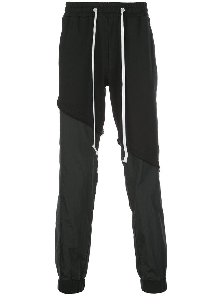 TERRY MIX TONAL JOGGER (BLACK)