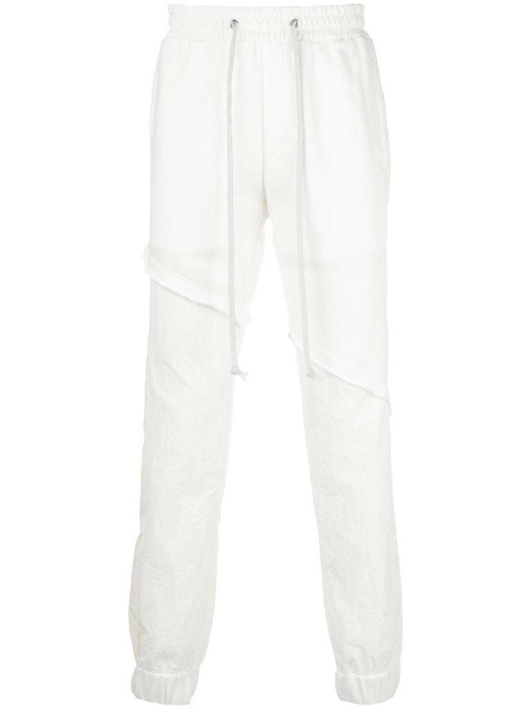 TERRY MIX TONAL JOGGER (OFF WHITE)
