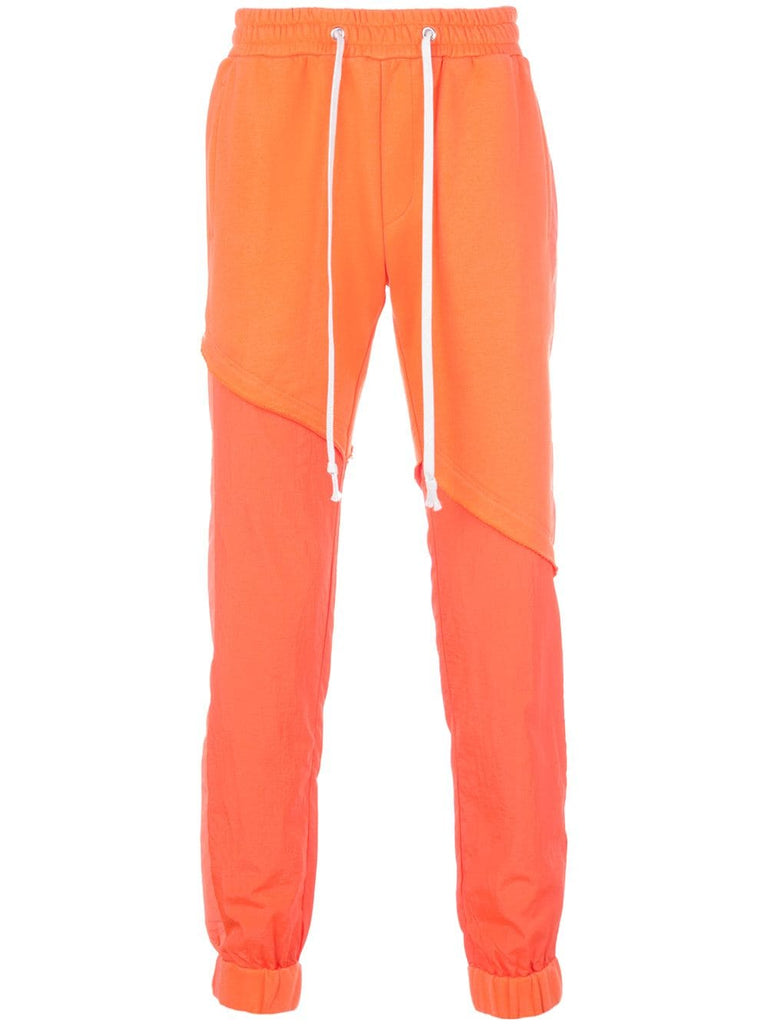TERRY MIX TONAL JOGGER (ORANGE)
