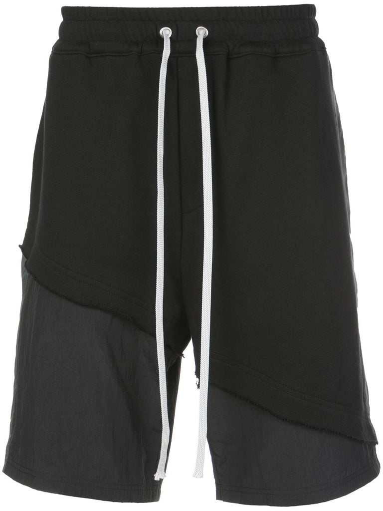 TERRY MIX TONAL SHORT (BLACK)