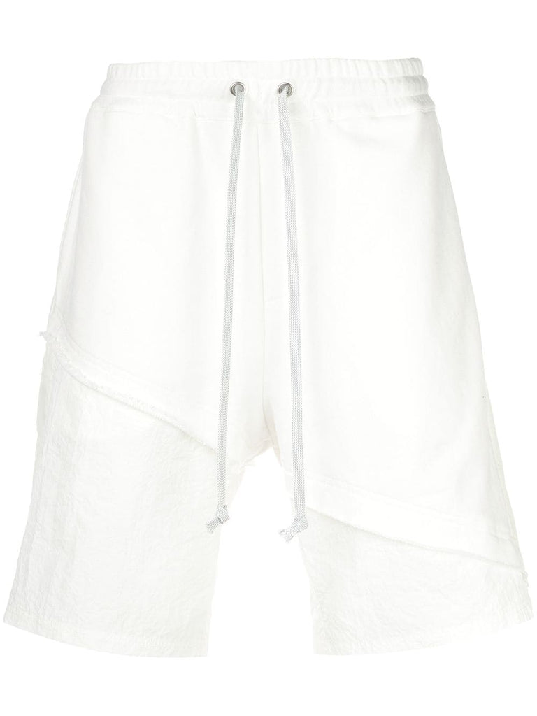 TERRY MIX TONAL SHORT (OFF WHITE)