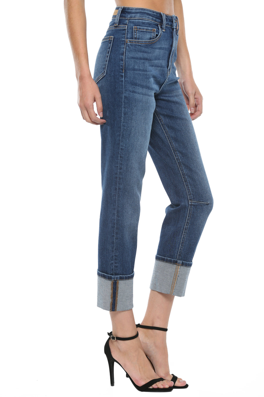High Rise Straight w. Rounded SS & Wide Cuff