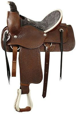 "16"" Double T  Roping Style saddle   MPN 1899"