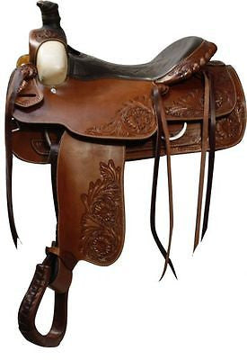 "16"" Double T Roping Style saddle. MPN 336716"