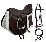 "14"",15"",16"",17"",18"" All Purpose English Saddle Start Set. MPN 1003"
