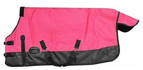 "Foal/mini Size 42""-46"" Waterproof and Breathable ShowmanTM 1200 Denier Turnout Blanket."