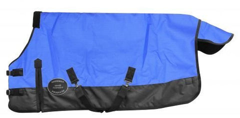 "Pony/yearling 48""-54"" Waterproof and Breathable ShowmanTM 1200 Denier Turnout Blanket."