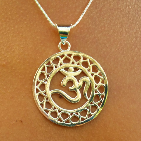 OM Necklace - GP-B6