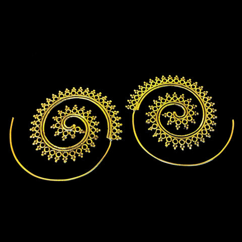 Indian  Brass Earrings - BS-B110