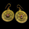 Indian Brass Earrings - BS-B135